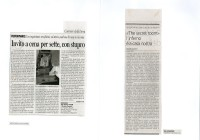 Corriere della sera 30_07_02 - La Stampa 11_7_02