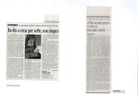 Corriere della sera 30_07_02 - La Stampa 11_7_02