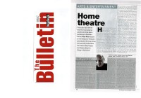 Newsweek Bullettin: Home theatre - The Bulletin 15 October 2002 (pag 1)