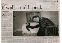 If walls could speak - The Age 5_6_00