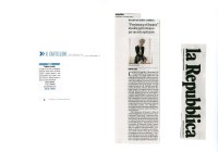 Persistence of dreams - La Repubblica 7_6_09
